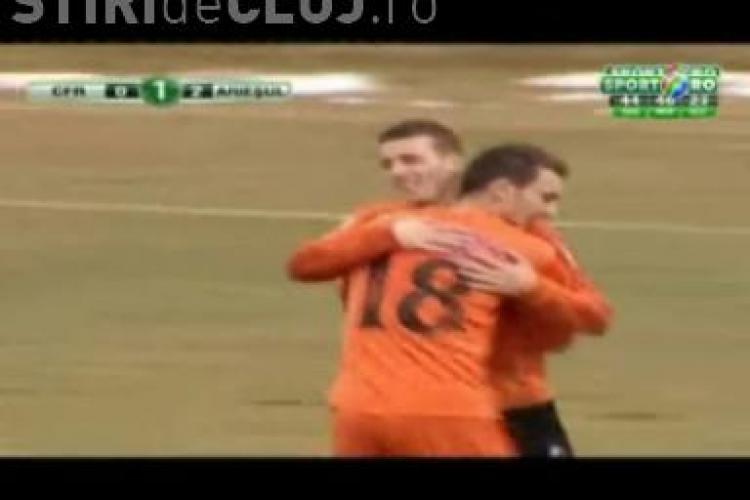 Gol Tilinca! CFR Cluj - Ariesul Turda 0-2 - VIDEO