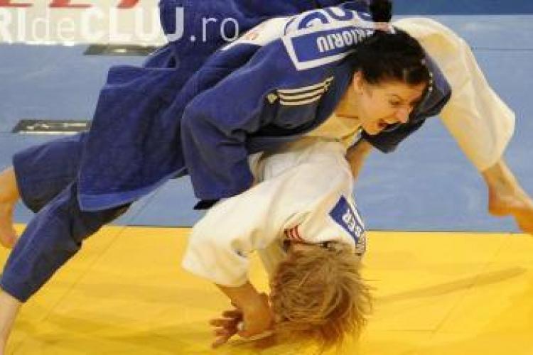 Clujeanca Corina Caprioriu, medaliata cu bronz la Grand-Prix-ul de judo de la Dusseldorf