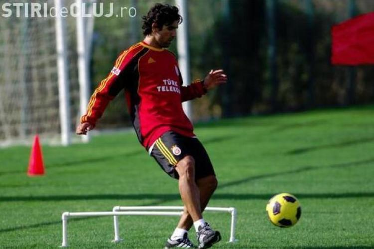 Culio, fostul jucator de la CFR Cluj, a marcat primul sau gol pentru Galatasaray