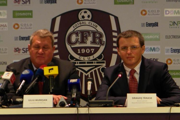 Iuliu Muresan vrea sa scrie numele CFR Cluj pe foite de aur de la Rosia Montana! El si-a amintit si cum a lucrat 6 luni in mina - VIDEO