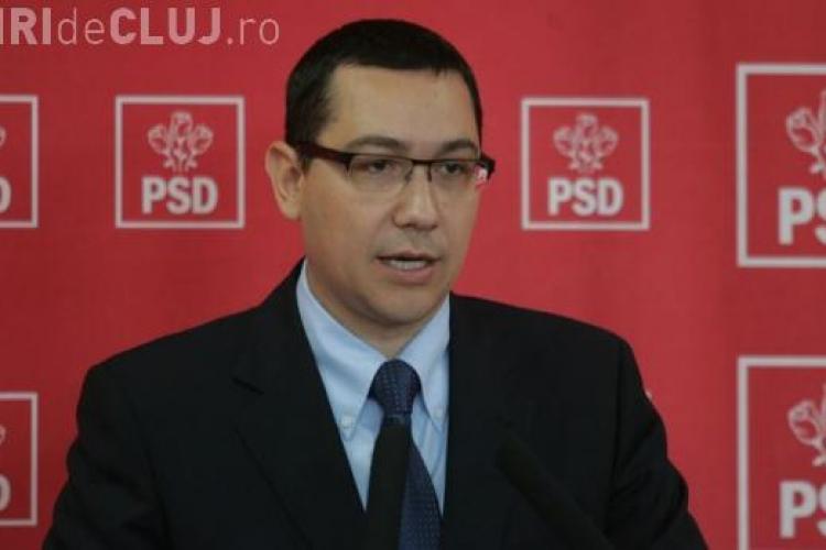 Victor Ponta vrea o alianta USL - UDMR si la Cluj