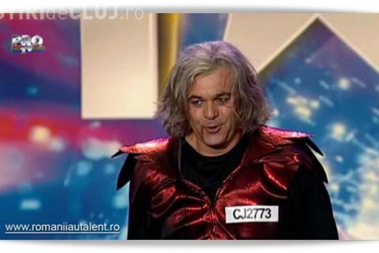 """""""Dracula de Turda"""" a ridicat sala in picioare la """"Romanii au talent"""" - VIDEO"""