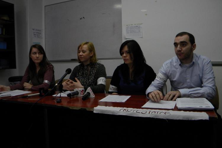Studentii din Cluj Napoca protesteaza in strada joi, 3 martie! VEZI calendarul protestelor