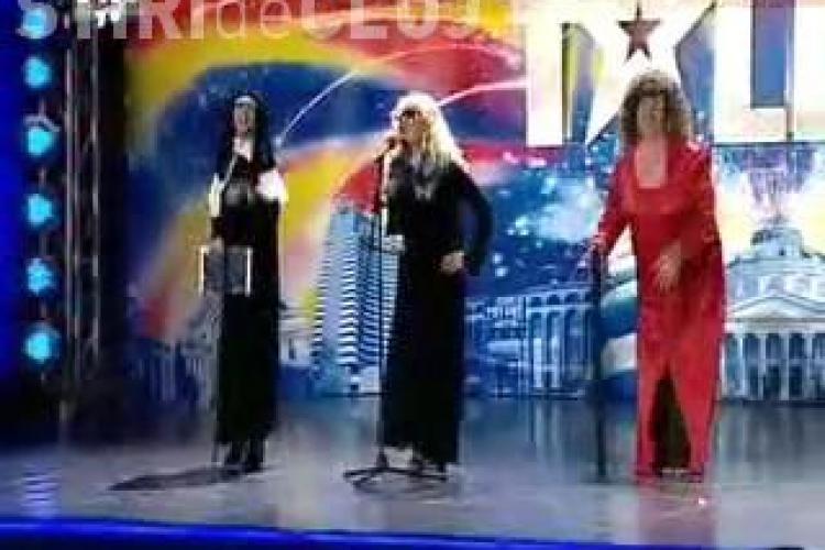 """""""Veveritele vesele"""", trupa de travestiti din Cluj, au facut """"furori"""" la """"Romanii au talent! - VIDEO"""