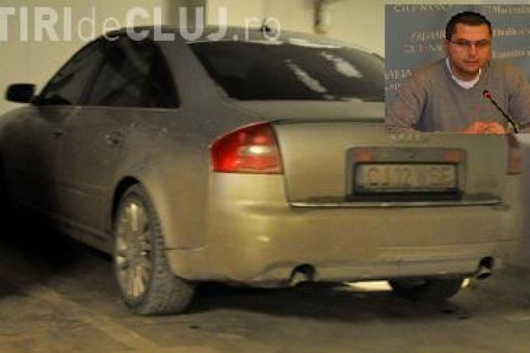 Viceprimarul Radu Moisin, la volanul unei masini primita de la Rosal!