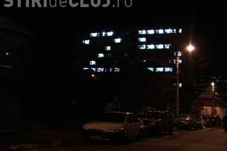 """Studentii au scris """"25"""" pe caminul 16 si au scandat lozinci impotriva Ministerului Educatiei! - VIDEO"""