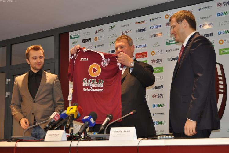 Rosia Montana Gold Corporation si CFR Cluj au semnat contractul de sponsorizare! Cum comentati? - VIDEO