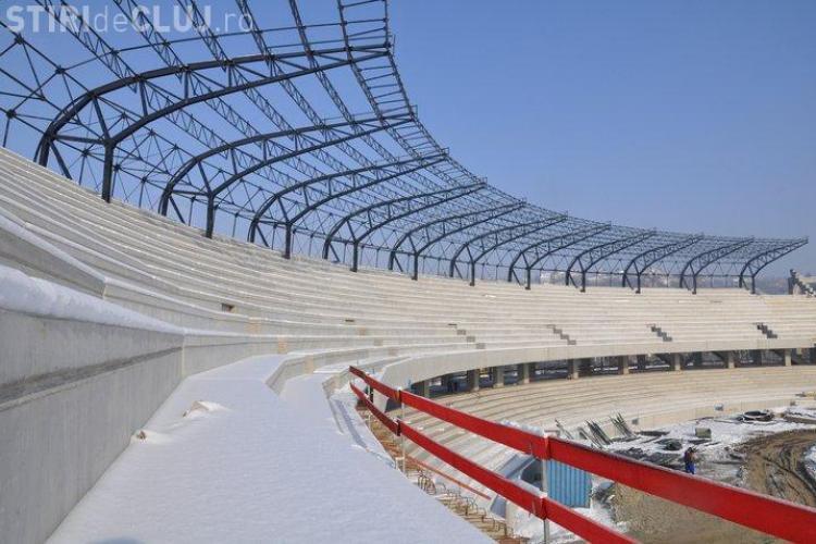 """Alin Tise: Stadionul """"Cluj Arena"""" va fi gata in 4 august 2011!"""