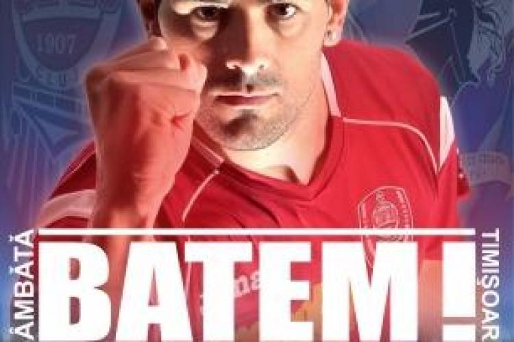 """""""Batem!"""", spune amenintator capitanul clujenilor inainte de meciul cu FC Timisoara"""