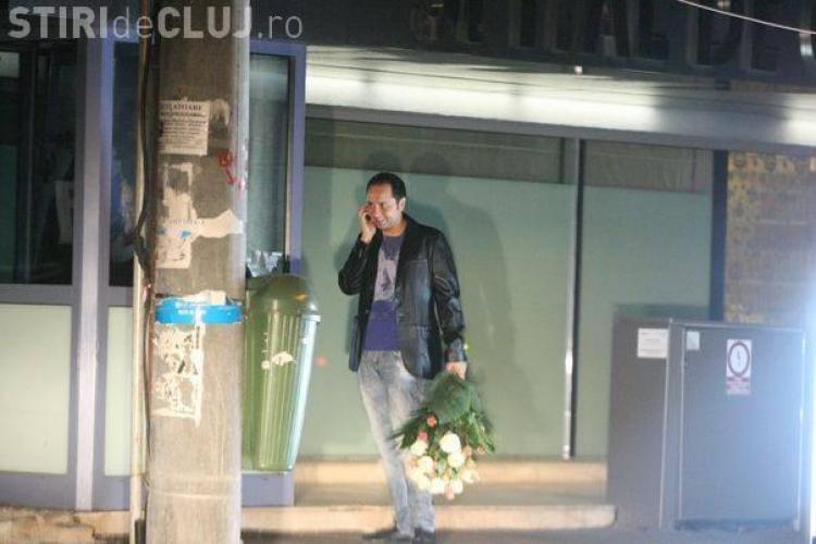 Catalin Maruta i-a dus trandafiri Andrei la spital! FOTO