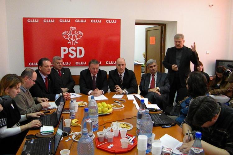 PSD Cluj si-a desemnat candidatii pentru Consiliul Judetean si Primaria Cluj Napoca! VEZI care sunt - VIDEO