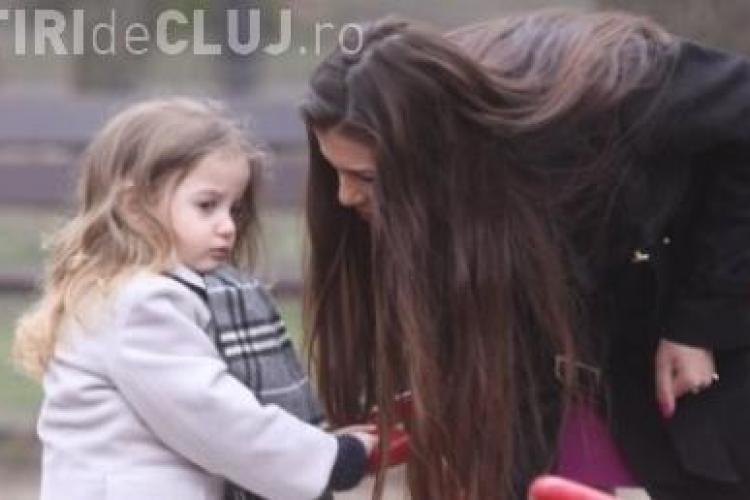 """Irinel Columbeanu a postat pe YouTube un film cu fiica sa: """"Mami ma bate! Vreau sa-mi cumpar alta mama!"""" - VIDEO"""