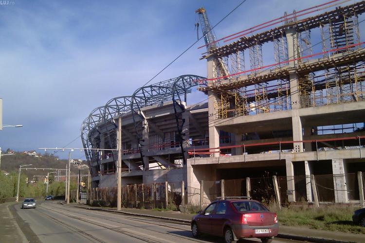 """Firma Tenko se retrage de pe terenul care blocheaza stadionul """"Cluj Arena""""! VEZI ce despagubiri plateste primaria"""