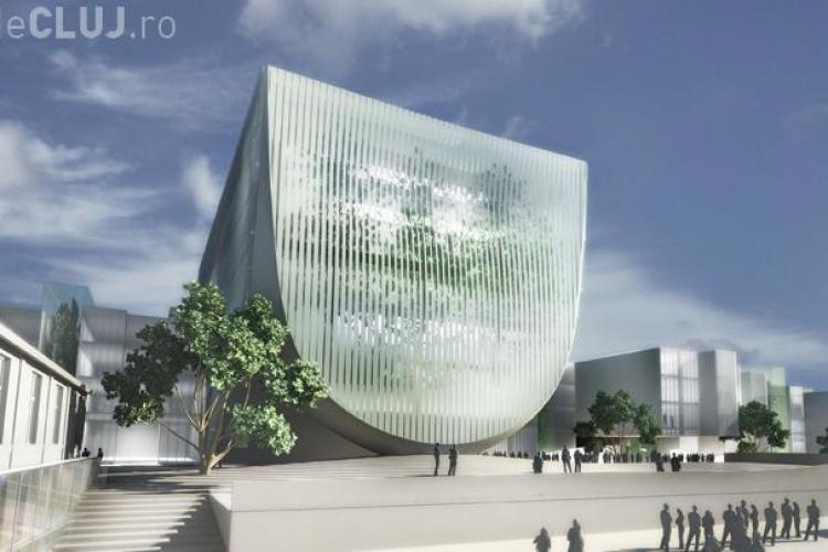 "Vezi cum a gandit Filarmonica Transilvania Dorin Stefan, arhitectul care a proiectat ""turnul frunza"" din Taiwan! - FOTO"