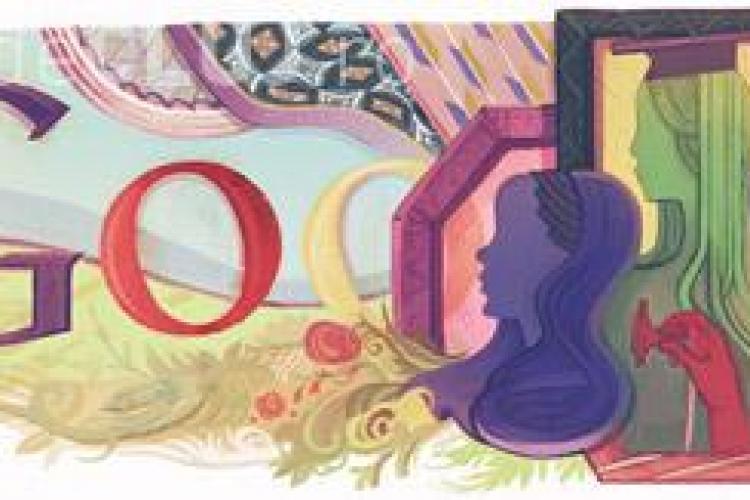 Ziua femeii este sarbatorita si de Google! La multi ani doamnelor si domnisoarelor