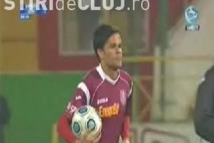 Mijlocasul Rafael Bastos de la CFR Cluj a primit o etapa de suspendare