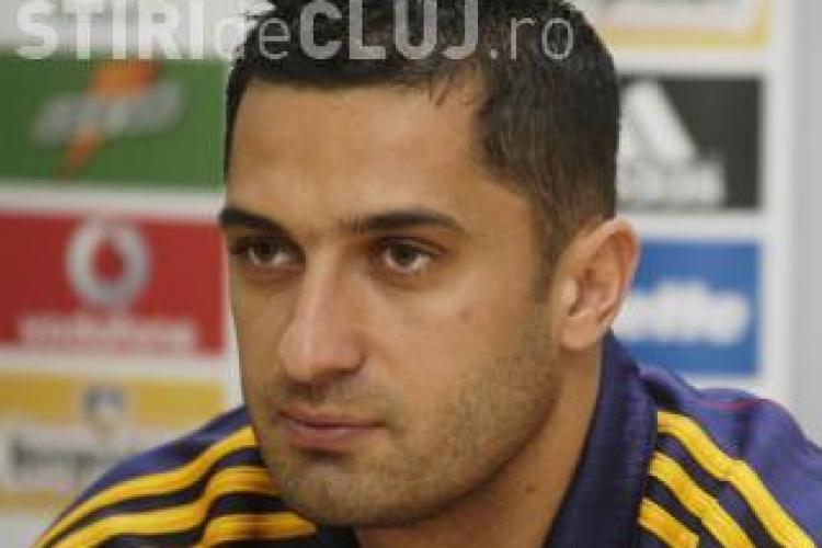 Claudiu Niculescu ar putea fi titular in meciul Universitatea Cluj-Unirea Urziceni