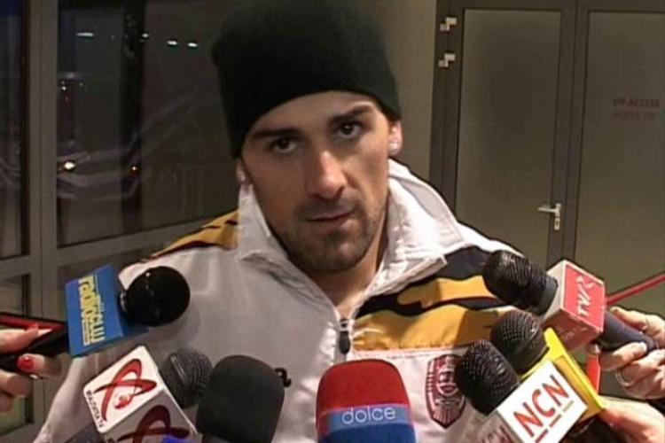 """Capitanul CFR Cluj, Ricardo Cadu: """"Titlul e departe, oricum nu mai aveam sanse"""" - VIDEO"""