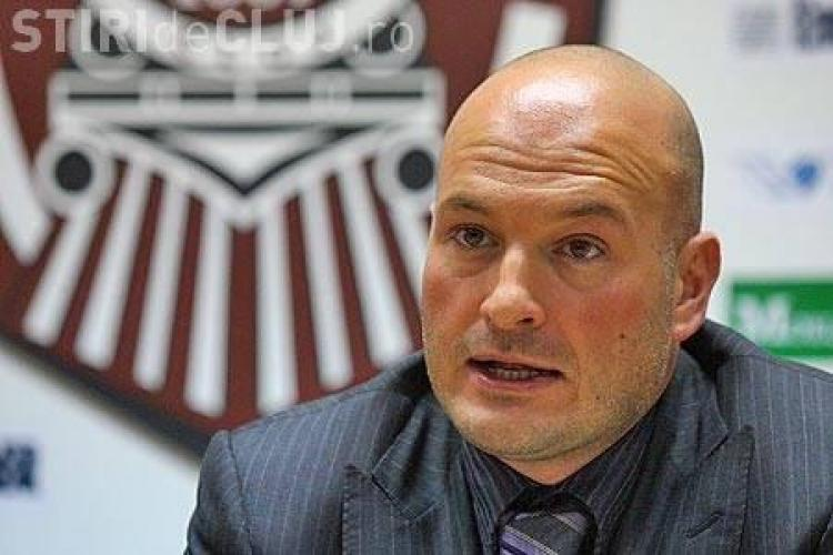 Patronul CFR Cluj, Arpad Paszkany, vrea titlul sau nimic