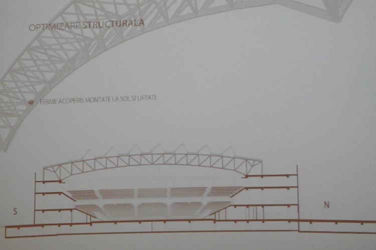 """Sala Polivalenta va avea un """"acoperis masina"""": va capta apa de ploaie si energia solara! VEZI explicatiile - VIDEO"""