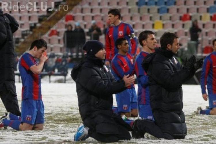 Stelistii au ingenunchiat in fata galeriei dupa ce au incasat 3 goluri de la FC Brasov! - FOTO