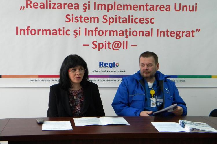 Brinel Cluj livreaza calculatoare in valoare de 1 milion de euro Spitalului Clinic Judetean Cluj!