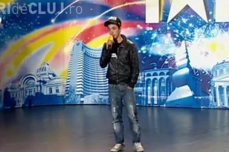 "Tutu Adrian canta la Romanii au talent, pe ritmuri hip-hop, piesa: ""E evident ca romanii au talent!"" - VIDEO"