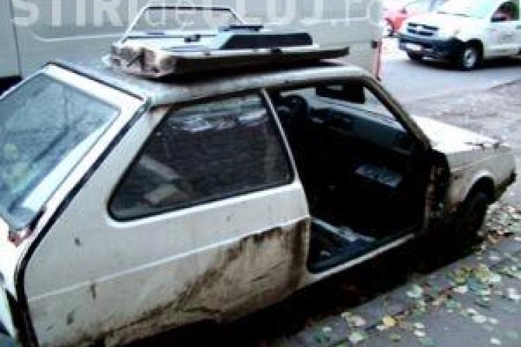 41 de masini abandonate, ridicate de Primaria Cluj-Napoca