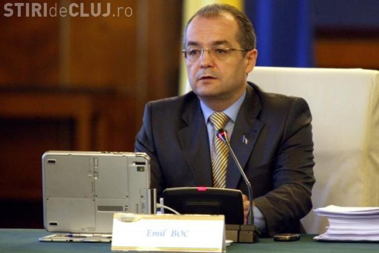 Filiala PDL Cluj il sustine pe Emil Boc la sefia partidului