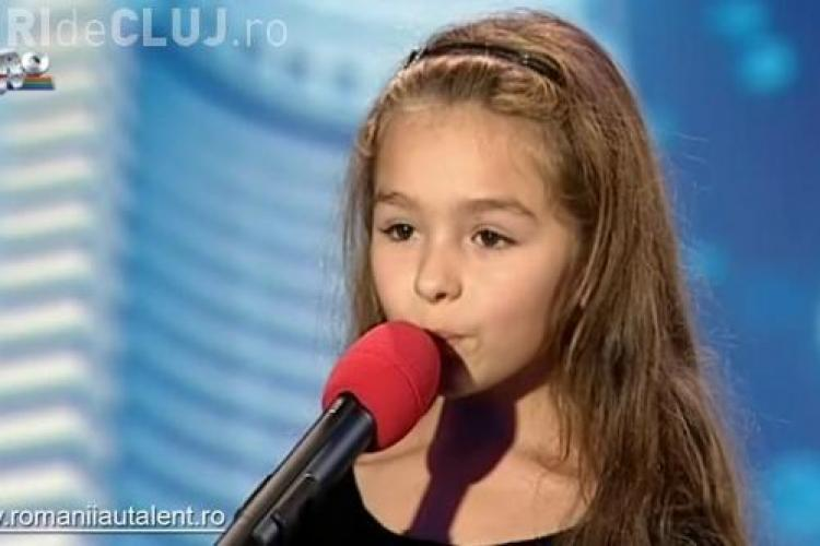 "Maria Rebeca Neacsu, vocea de aur de la ""Romanii au talent""! -VIDEO"