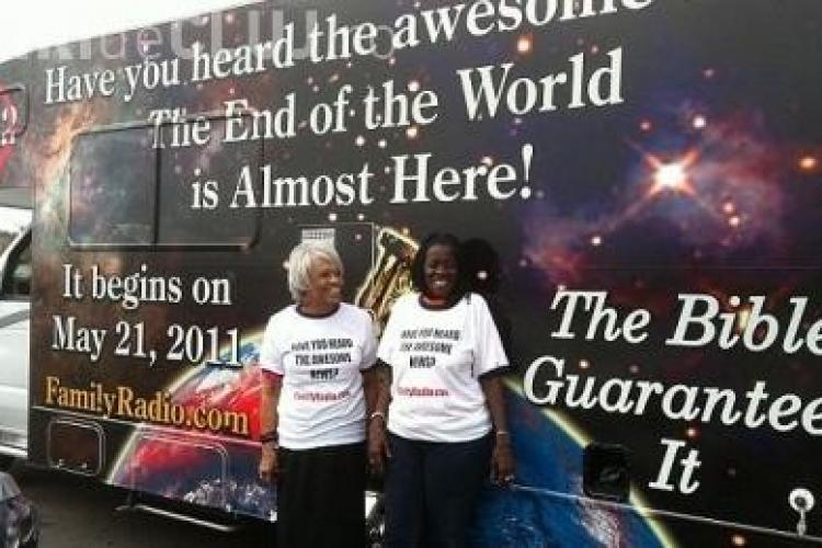 Vine sfarsitul lumii in 21 mai 2011! VEZI detalii