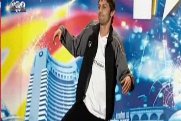 "Valentin Paun a facut breakdance la ""Romanii au talent""! - VIDEO"