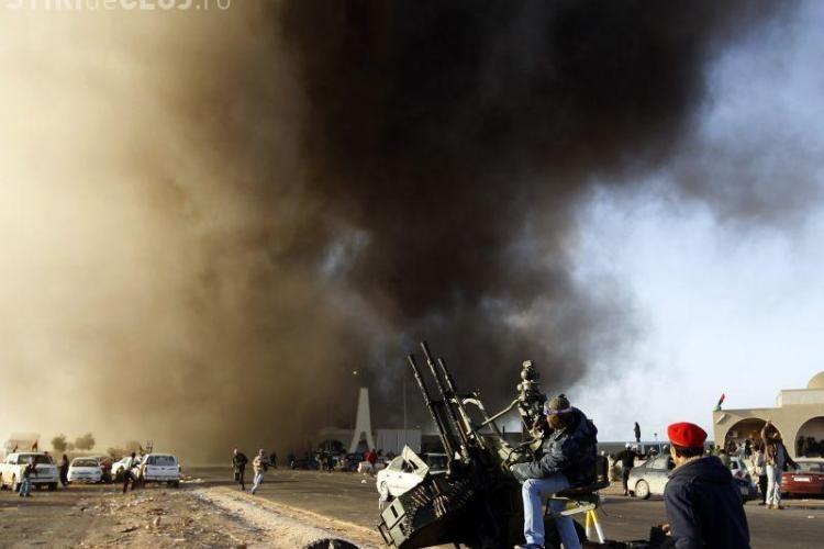 NATO este pregatita sa intervina in Libia
