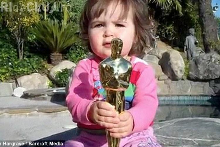 """Fiica producatorului filmului """"King's Speech"""" a scapat si a ciobit statueta de Oscar!"""
