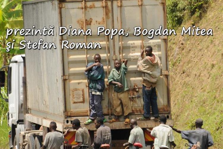 """Trei clujeni au fost intr-o """"expeditie"""" cu bicicleta prin Africa, in Burundi si Rwanda!"""