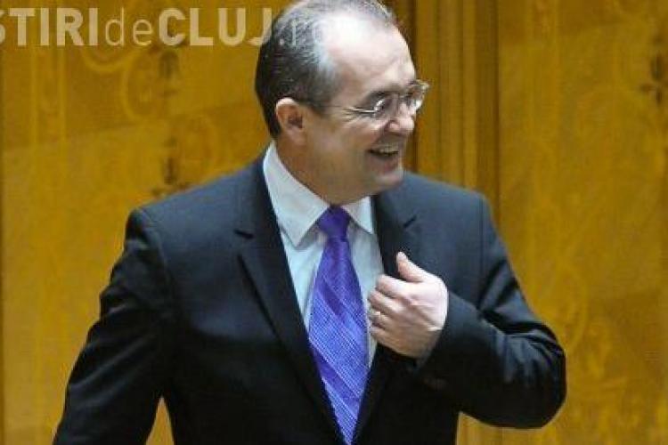 Boc: V-am spus ca, daca am cravata violet, va fi un rezultat bun!