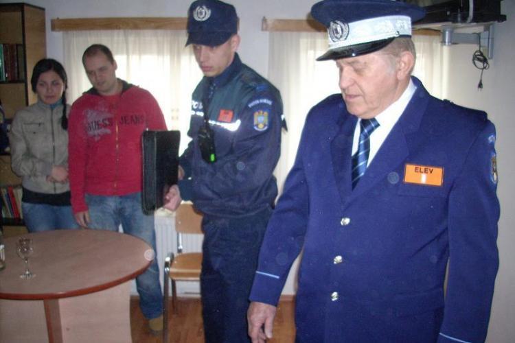 Vezi cum arata Dorel Visan in uniforma de politie! Actorul a fost agent pentru o zi - VIDEO si Galerie FOTO