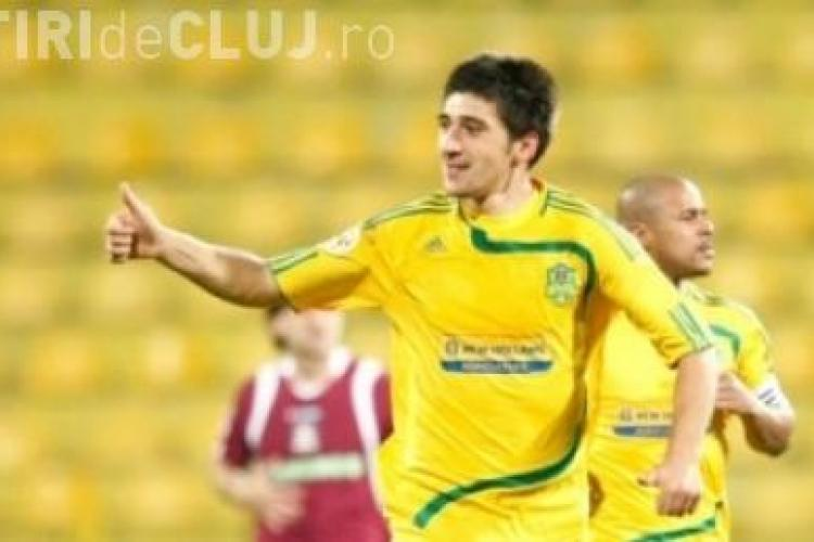 Gol Papp! FC Vaslui - U Cluj 1-0 - VIDEO