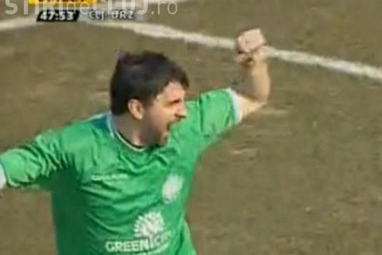 Gol Adrian Mihalcea! U Cluj - Unirea Urziceni 1-2 - VIDEO