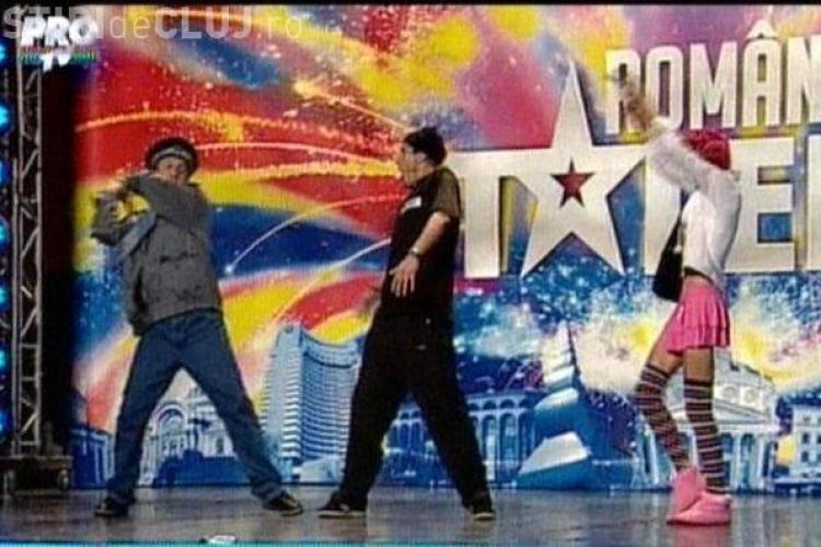 "Brigada 2/3 & Red Master, show total la ""Romanii au talent"" - VIDEO"