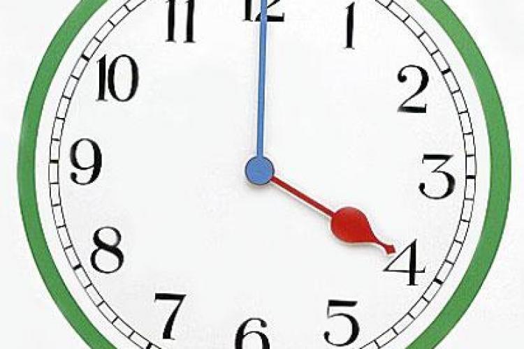 La noapte trecem la ora de vara! Ceasurile se dau inainte cu o ora!