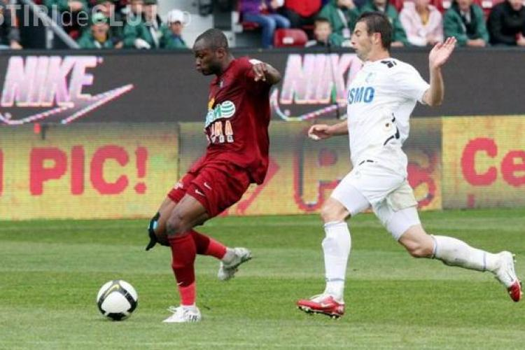 CFR Cluj- Pandurii Targu Jiu: 1-0