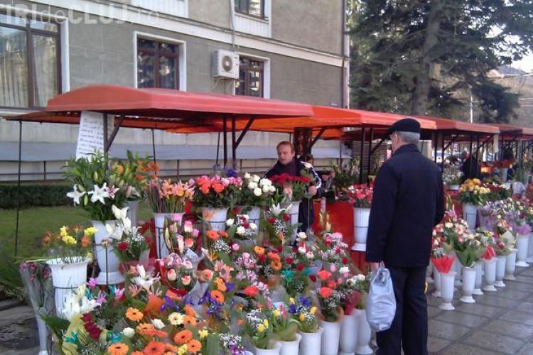 Flori de 80.000 de euro puse in vanzare la Cluj, de Dragobete
