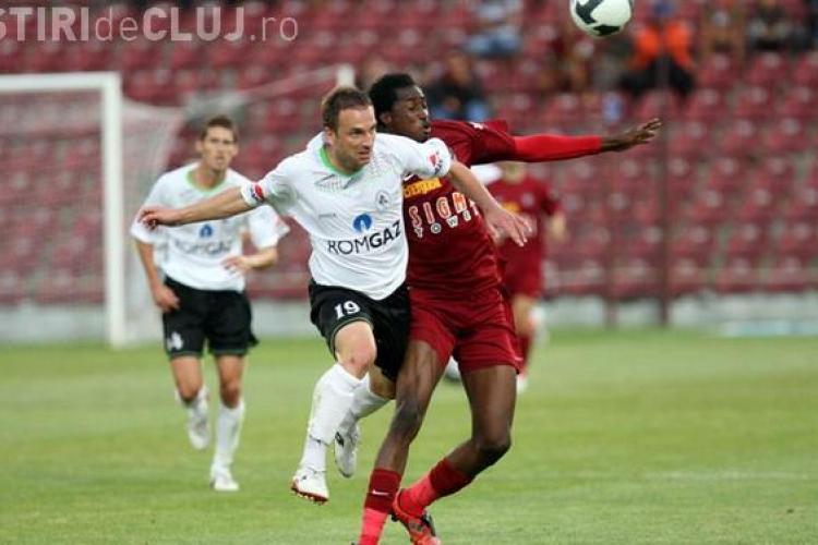 Gaz Metan Medias - CFR Cluj  0-0