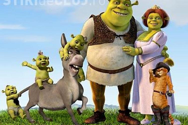 """Shrek Forever After"" 3D va avea premiera in Romania in luna iulie"