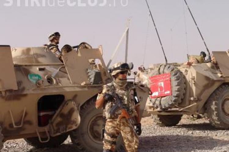 Un militar roman a murit, iar altul a fost ranit intr-o explozie, in Afganistan