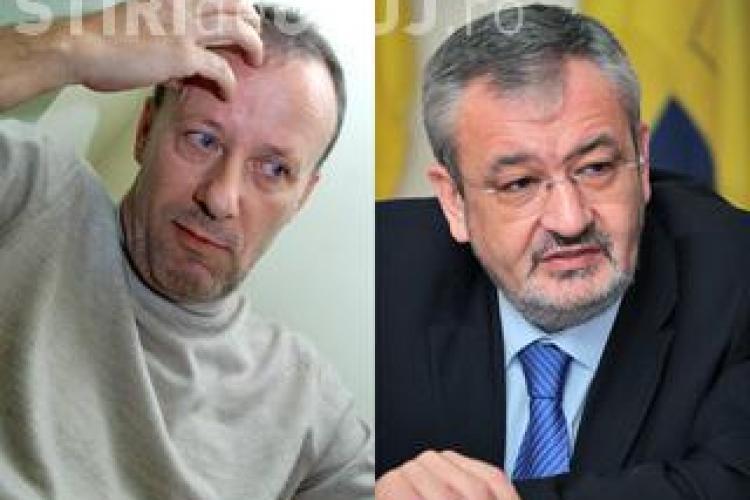 Andrei Gheorghe paraseste Ministerul Finantelor, nu inainte de a schimba site-ul institutiei in violet