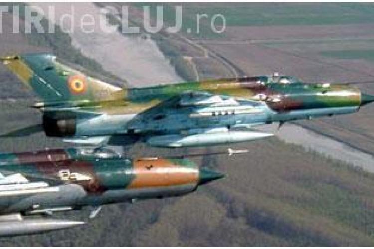 MIG -urile 21 Lancer de la Campia Turzii au escortat avionul de la Timisoara, vizat de amenintarea cu bomba