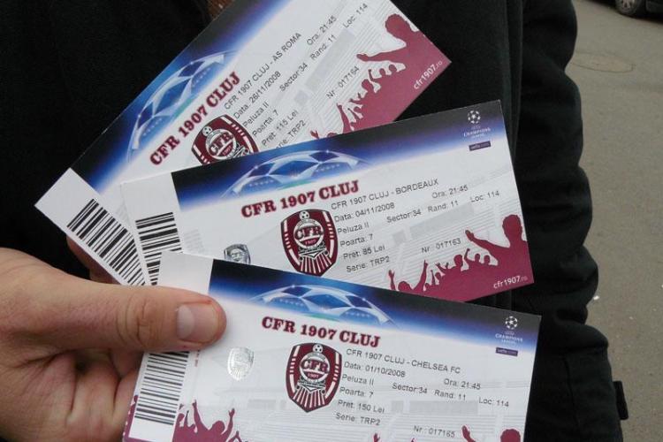 Biletele la CFR - Dinamo se vand incepand de miercuri, pentru cei cu buletin de Cluj