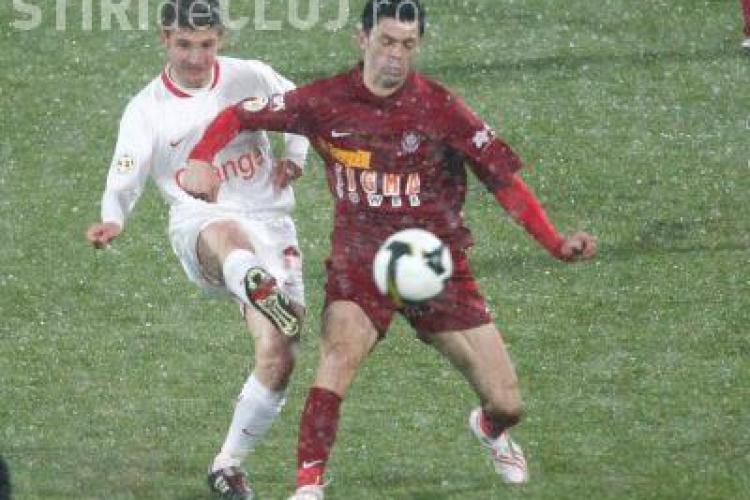 CFR Cluj ramane pe primul loc in Liga 1. Dinamo a condus, dar a fost prea slaba pentru a invinge in Gruia - VIDEO